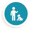 Dog sitter e veterinario