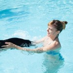 Bagno in piscina con cani Hotel Rimini