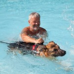 Hotel Pet Friendly bagno in piscina