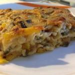 Hotel Rimini lasagne vegetariane